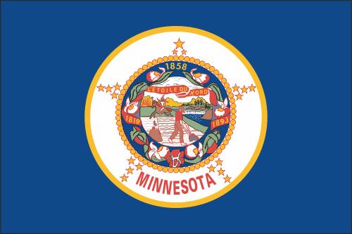 флаг минесоты