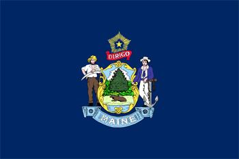 флаг мэна