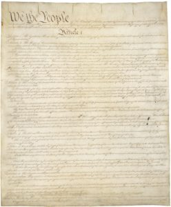 оригинал конституции сша фото