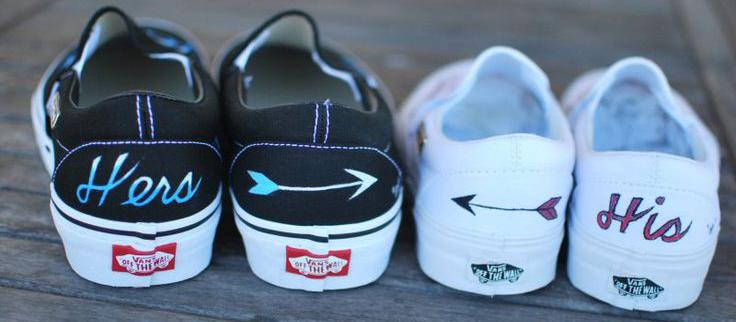 Наклейки для украшения обуви